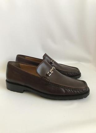 Кожаные туфли, лоферы от bruno magli 452 фото