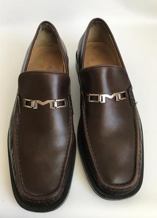 Кожаные туфли, лоферы от bruno magli 453 фото