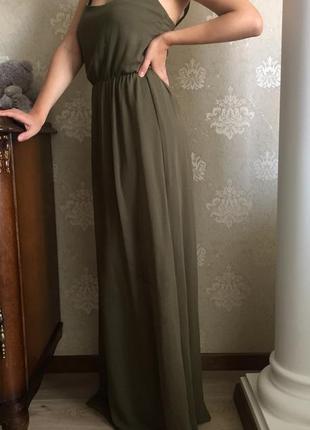 Красивое платье в пол zara