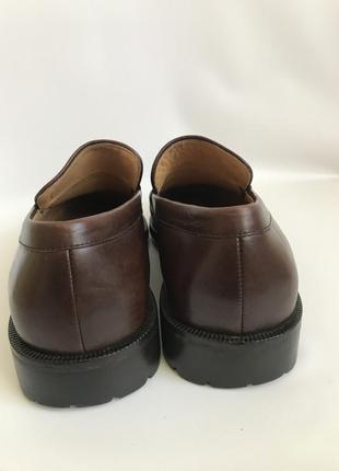 Кожаные туфли, лоферы от bruno magli 458 фото