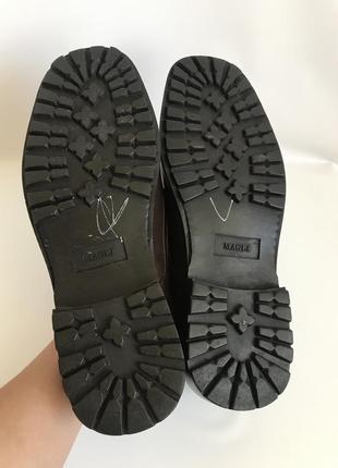 Кожаные туфли, лоферы от bruno magli 4510 фото