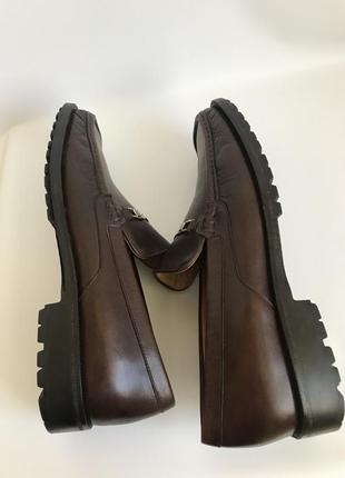 Кожаные туфли, лоферы от bruno magli 456 фото