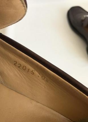 Кожаные туфли, лоферы от bruno magli 459 фото