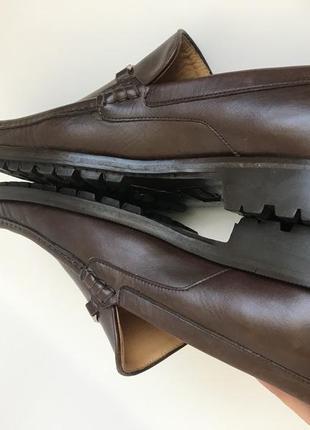 Кожаные туфли, лоферы от bruno magli 457 фото