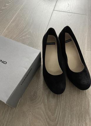 Vagabond туфли замшевые