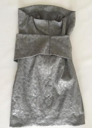 Мини платье серое tago арт 427