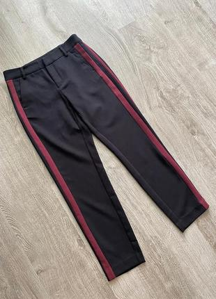 Штаны брюки полоска лампасы от  kappahl