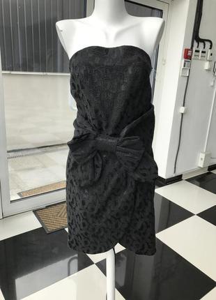 Платье с бантом tago арт 428