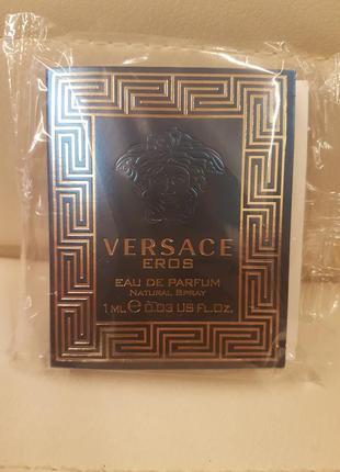 Пробник мужская парфюмированная вода versace eros