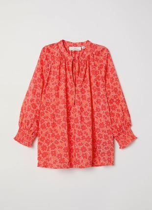 Блузка из вискозы h&m xxl