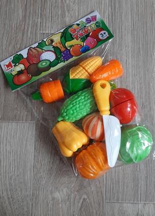 Овощи на липучке