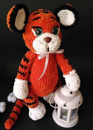 Тигрёнок плюшевый