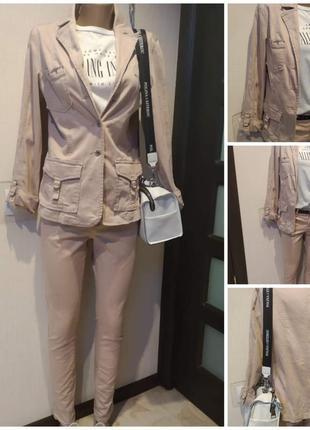 Лёгкий стильный розовый пиджак жакет ветровка куртка