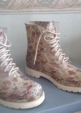 Силиконовые ботинки keddo - 38 р. (24 см.)