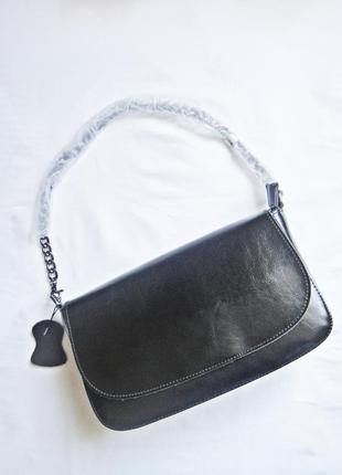 Бесплатная доставка . новая сумка багет. из натуральной кожи