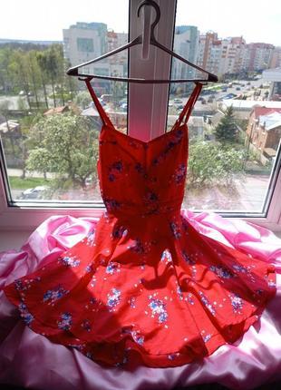 Красивое платье клёш