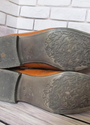 Кожаные туфли броги next6 фото
