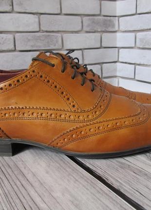 Кожаные туфли броги next2 фото