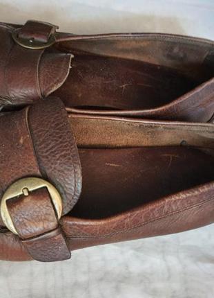 Ecco оригинал не убиваемые туфли полностью натуральная кожа  41 р