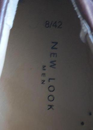 Мужские туфли new look men 42 р.5 фото