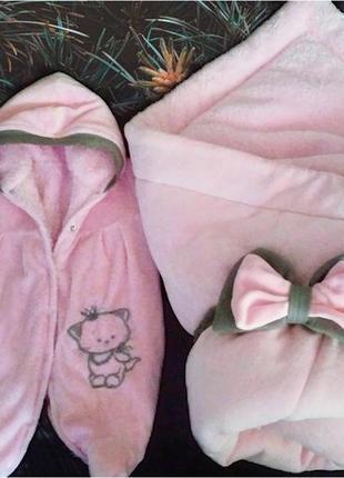 Зимний комбинезон и конверт одеяло