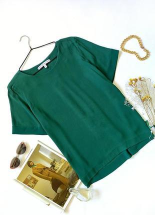 Зеленая изумрудная блуза футболка оверсайз оверсайз other stories
