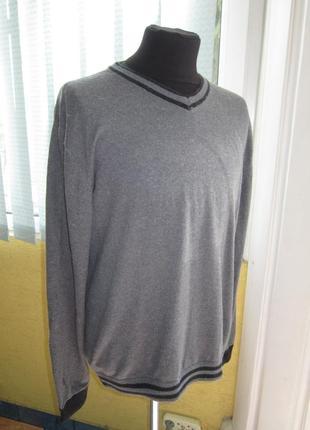 Стильный лёгенький мужской пуловер -- tcm --