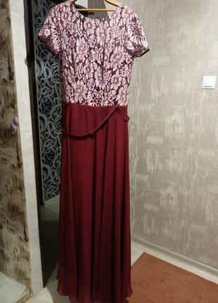 Вечернее платье, выпускное, платье в пол