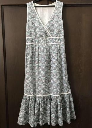 Bon' a parte летнее платье из хлопка р 48 - 50 ( l - xl )