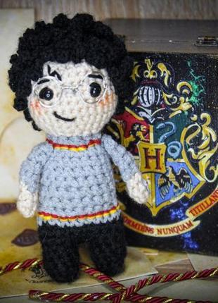Гарри поттер игрушка амигуруми оригинальная ручная работа