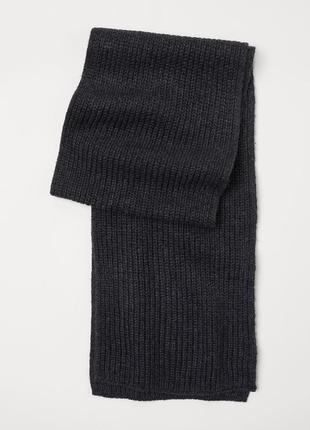 Вязаный шарф h&m1 фото