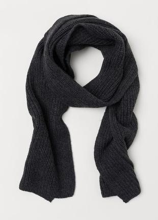 Вязаный шарф h&m2 фото