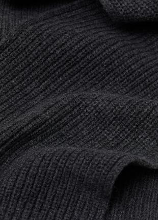 Вязаный шарф h&m3 фото