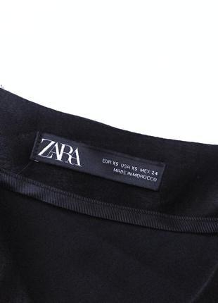Черная юбка миди сатин тренд zara5 фото