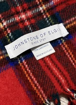 Шерстяной шарф johnstons of elgin
