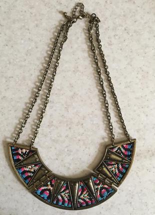 Этническое ожерелье колье