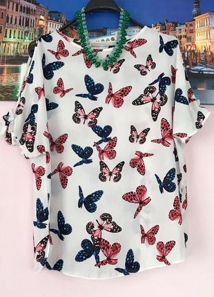 Блуза бабочки