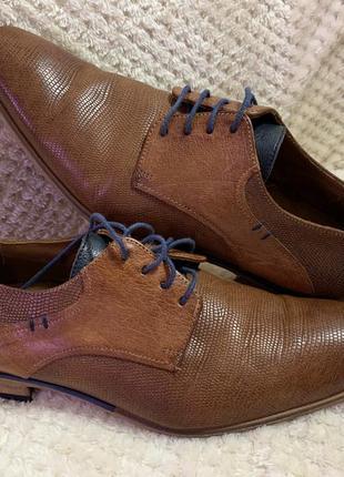Lloyd туфли полностью кожа германия оригинал!