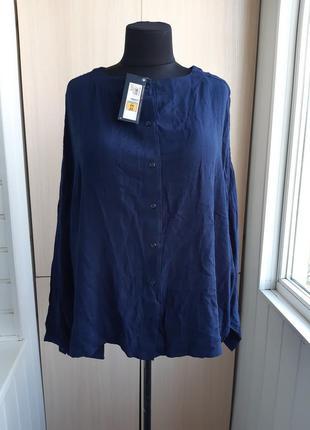 Вискозная блуза супер-батал.