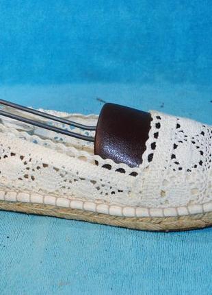 Эспадрильи мокасины вязаные old navy 40 размер