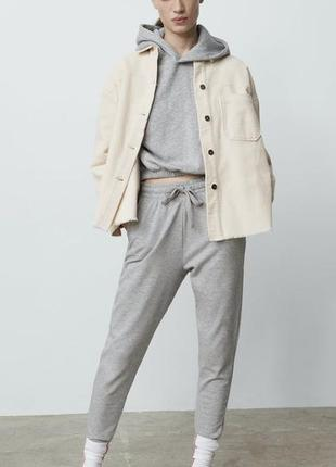 Zara вельветова сорочка- піджак