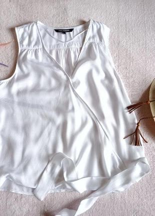 Нежнейшая белоснежная невесомая блуза от шведского бренда
