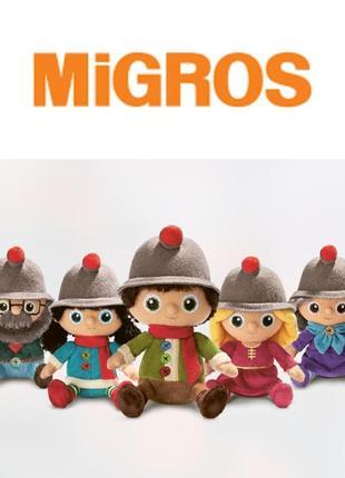 Плюшевая семейка migros