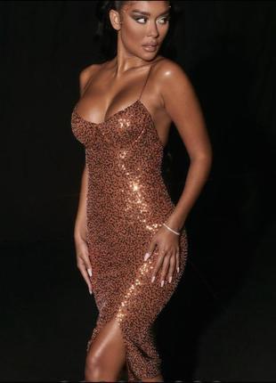 Блестящее платье из новой коллекции oh polly