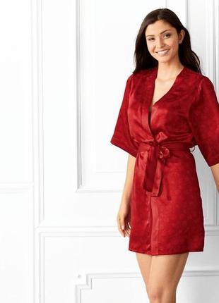 Шикарний сатиновий халат esmara розмір м