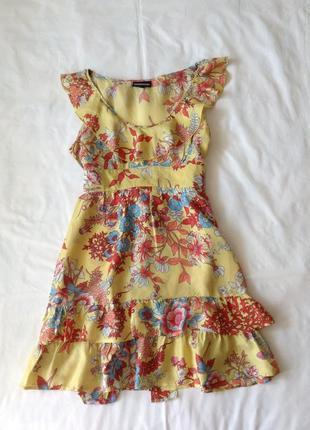 Платье сарафан .шелк 100%