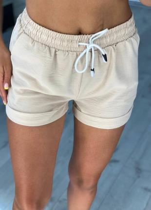 Женские летние короткие шорты