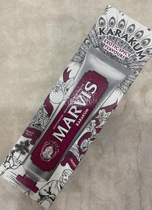Marvis karakum зубна паста