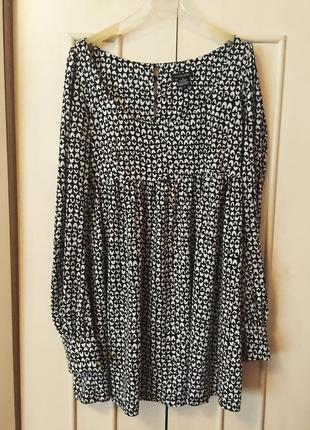 Туника платье удлиненная кофта лонгслив для беременных большой размер castro