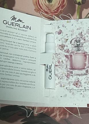 Парфюмированная вода mon guerlain sparkling bouquet мон герлен2 фото